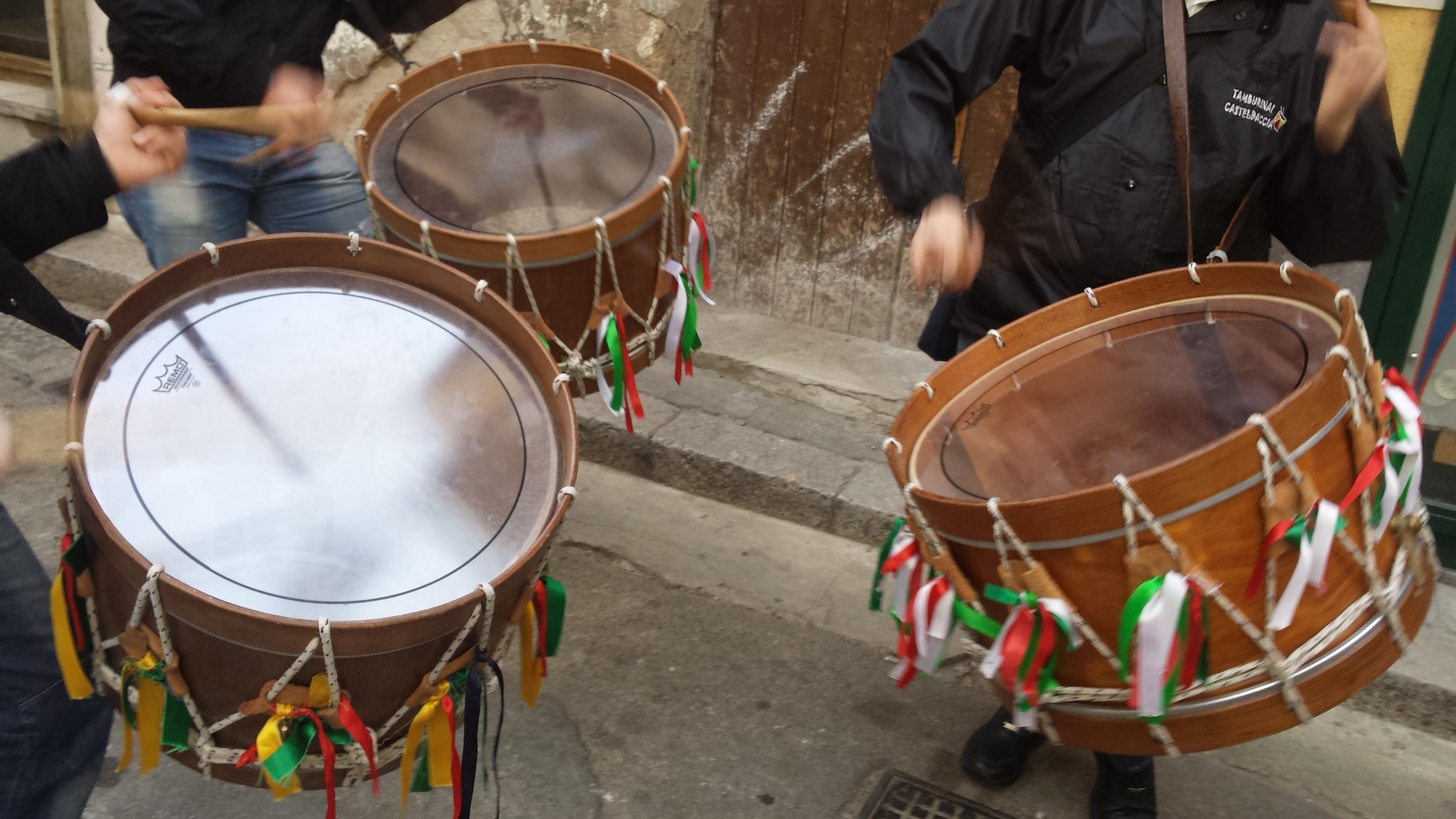 Abbanniata Castiddazzisi del Carnevale 2017 dei Casteldaccia