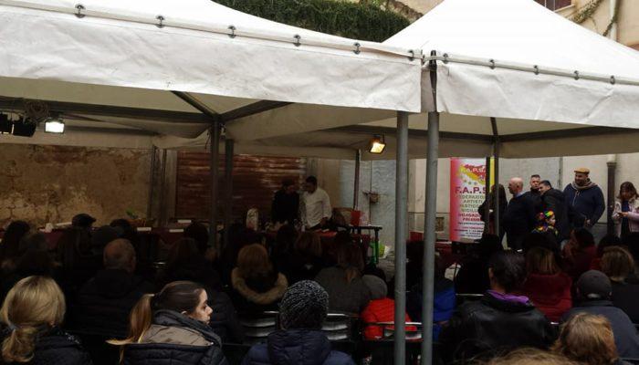 Chiacchiere i Casa Mia - Natale Giunta e Daniela Bucalo Showcooking