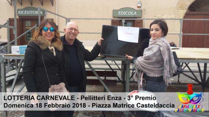 Lotteria di Carnevale - 2° Premio Pellitteri Enza