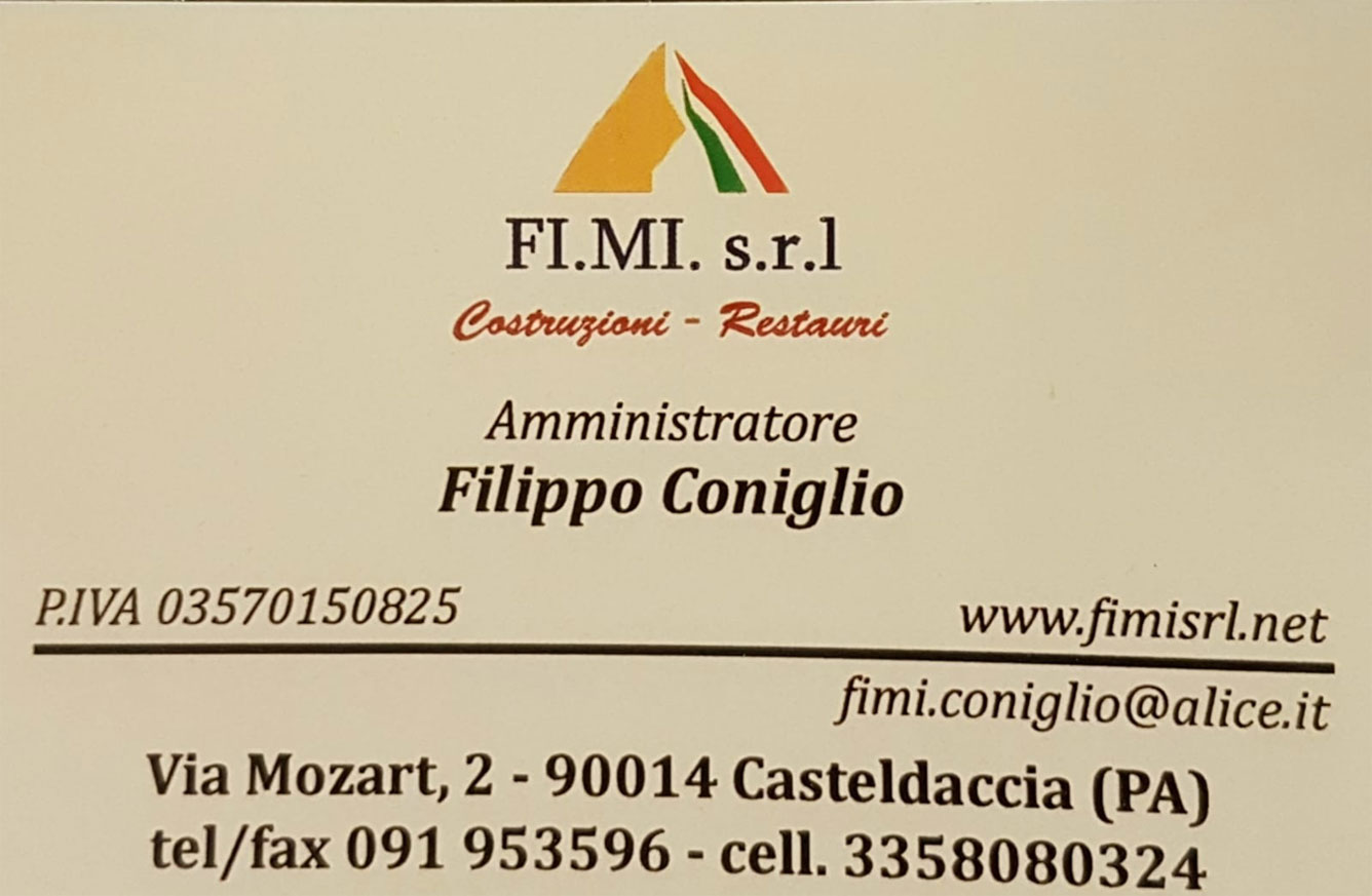 FiMi Srl Costruzioni a Casteldaccia (PA)